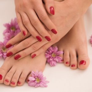 Manicure & Pedicure with Gel Finish